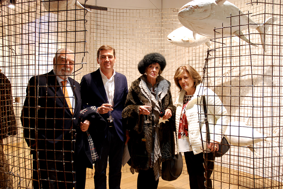Inauguración de la última exposición de Pepe Monserrate en Londres