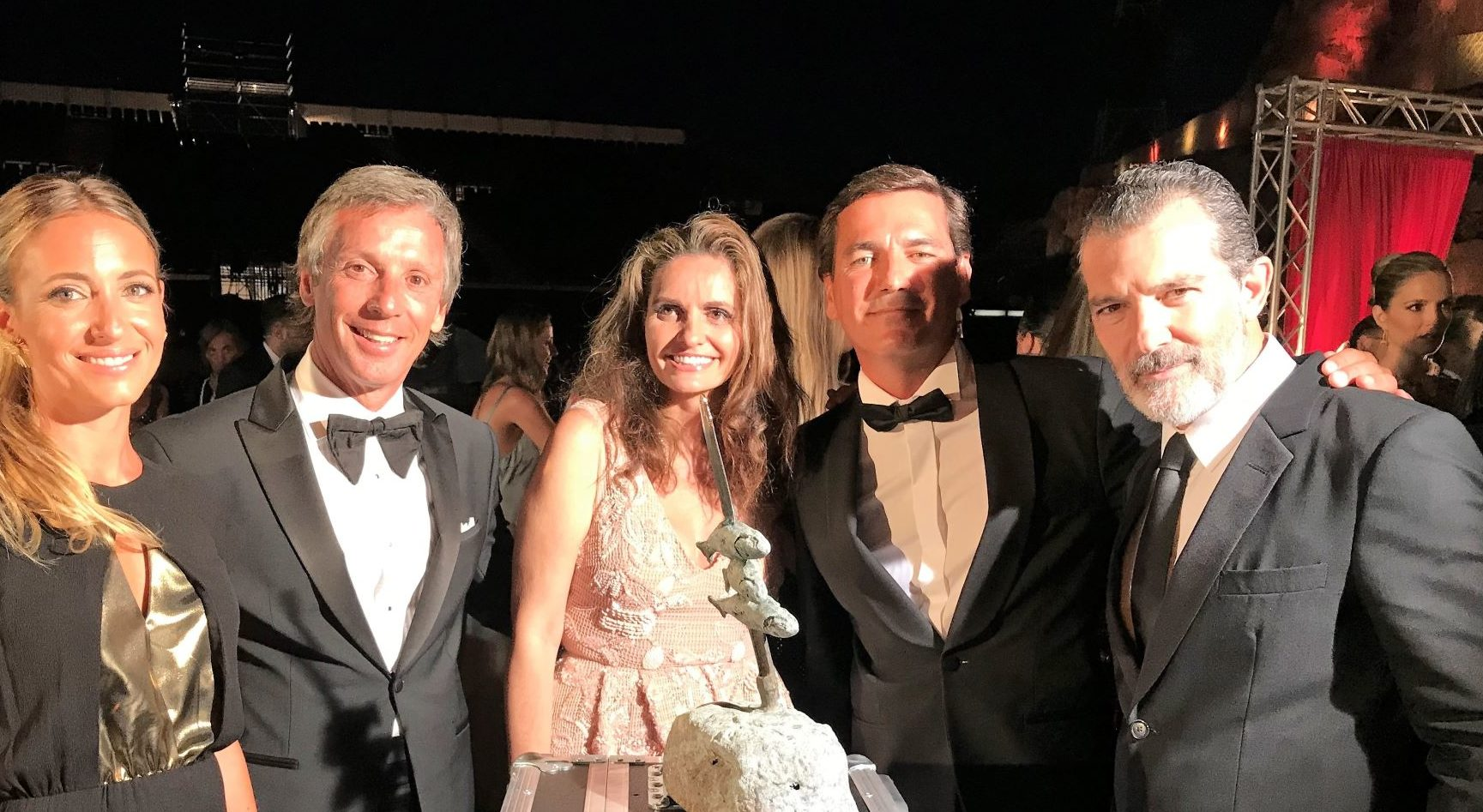 Donation to Starlite charity gala organized by Antonio Banderas and Sandra García-Sanjuán